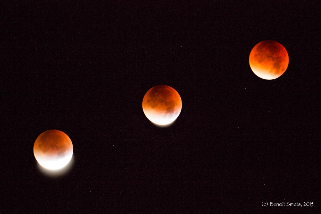 Bloody Super Moon on 28th September 2015